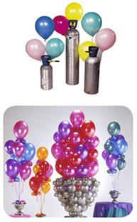 helium balloon kits