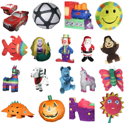 Piñatas and Party Favours