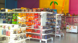 Part of our display area